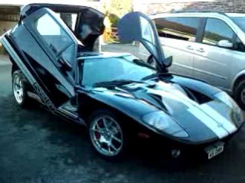 Ford Gt Break Horse Power With Lambo Door