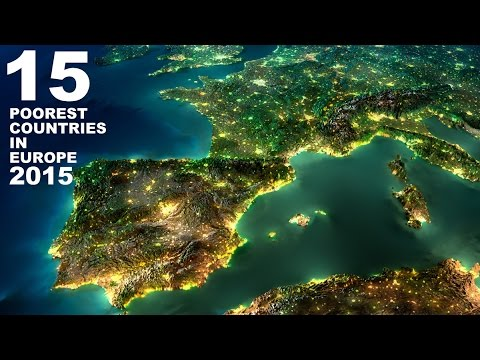 Poorest Countries In Europe YouTube - Top 20 poorest countries in the world 2015