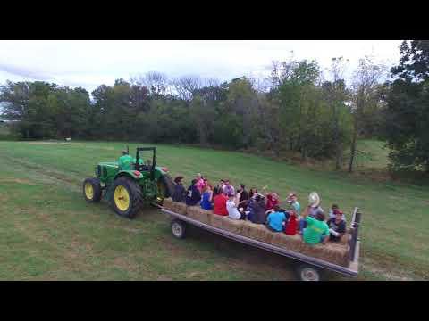 Lloyd High School visits Farm Haven
