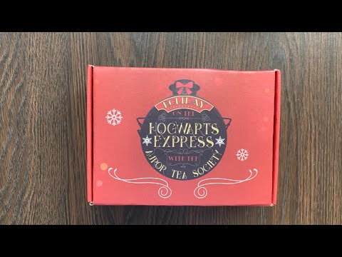 Holiday Auror Tea Society Unboxing and Tasting