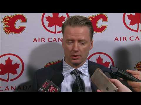 "Gulutzan displeased with Flames' ""pathetic"" display vs Canadiens"