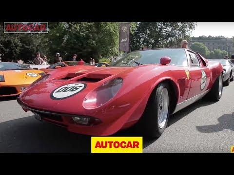 Lamborghini 50th anniversary drive special - Aventador, Gallardo, Murcielago, Miura