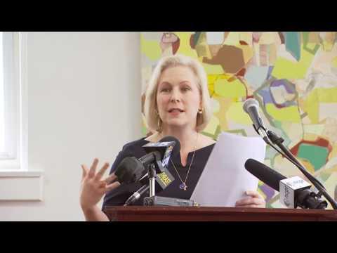 Senator Gillibrand Talks about Importance of PBS Funding