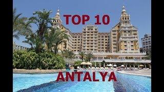 TOP 10 BEST 5 STAR HOTELS ANTALYA, TURKEY 2018