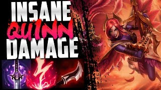 Showing Yami the power of Quinn...