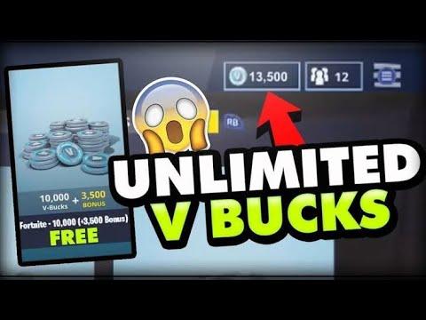 Unlimited Vbucks Glitch