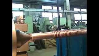 Намотка пружин на токарном станке
