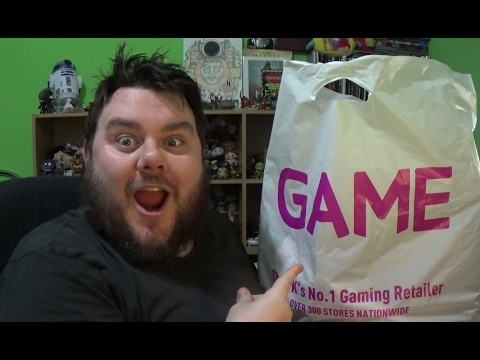 GAME STORE – EPIC SALE HAUL – Whats In The Bag??? (SuperSorrell)