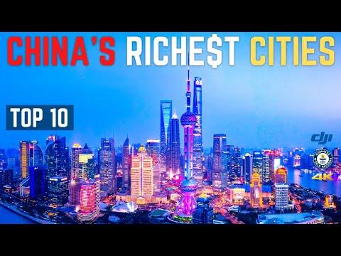 China's Richest Cities 2021 | Top 10 | 中国最富有城市 2021