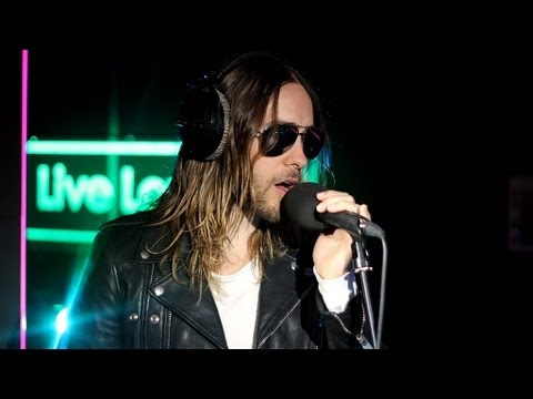 30 seconds to mars radio 1 live lounge 2013
