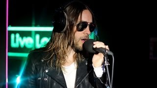Repeat youtube video Thirty Seconds To Mars - Stay (Rihanna) in the Live Lounge