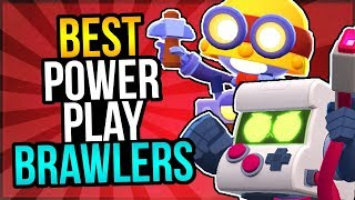 BEST Brawlers for Every POWER PLAY Map! Earn More Points!