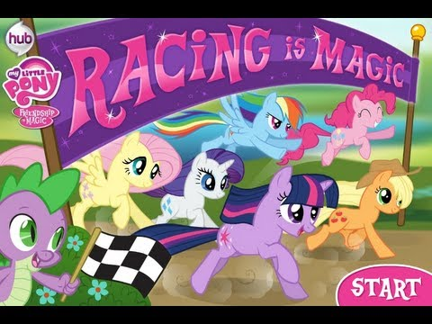 Let's Insanely Play My Little Pony Racing Is Magic With Lag.....Yay!