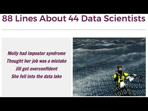 88 Lines About 44 Data Scientists