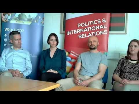 UCD Hangout On Air | Politics & International Relations Masters Degrees