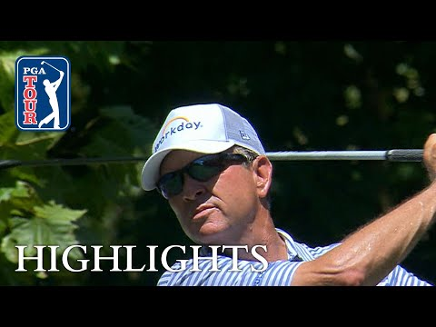 Davis Love III extended highlights | Round 2 | Wyndham