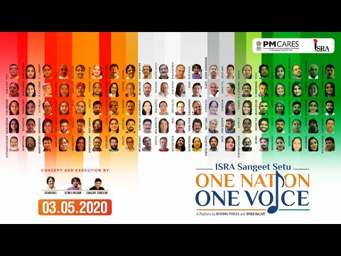 Sangeet Setu Onenationonevoice By Isra 100 Voices 1 Anthem 3rd May 2020 Youtube
