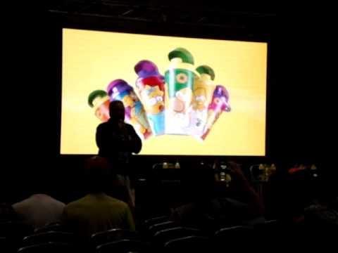 ⒽLos Simpsons en el Forum-Santiago Del Estero parte 1