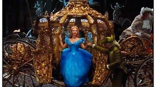Кино «Золушка» 2015 / Новый русский трейлер фильма / Дисней / Хелена Бонем Картер