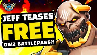 Jeff Teases Overwatch 2 FREE Battlepass?! Talks Toxicity, Game Balance & Overwatch 2 FOCUS!