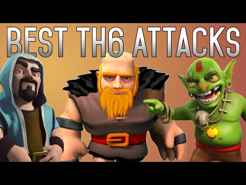 Top 5 TH6 Attack Strategies (Clan Wars/Farming/Trophies)