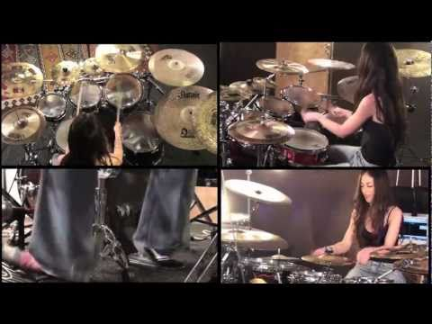 LAMB OF GOD - REDNECK - DRUM COVER BY MEYTAL COHEN