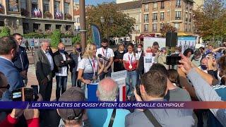 Yvelines | Les triathlètes de Poissy fêtent leur médaille olympique