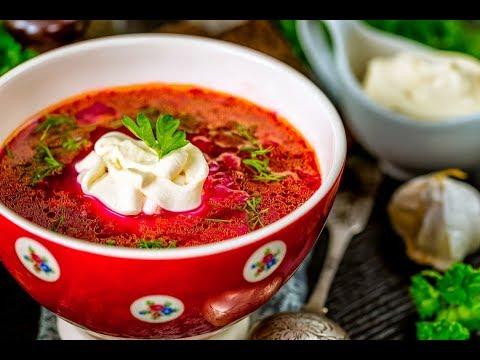 Как приготовить суп борщ