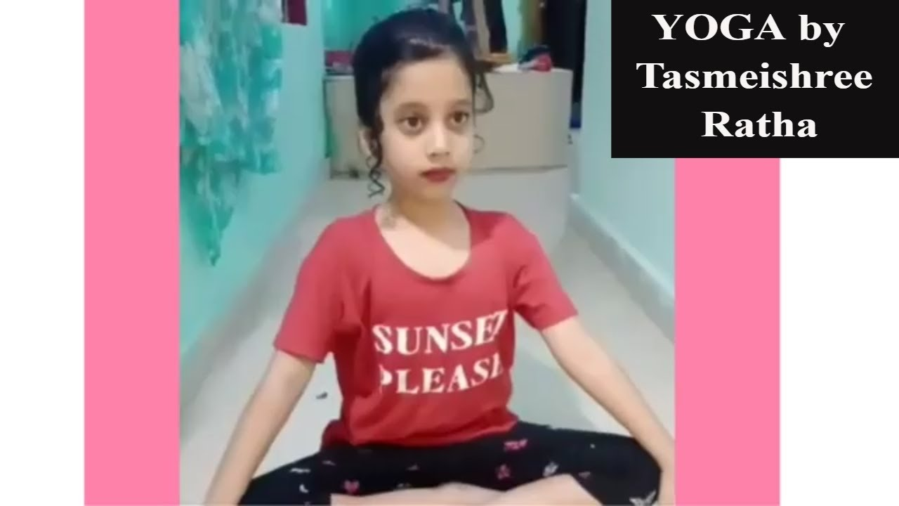 Yoga by Tasmeishree Ratha | Yoga Competition by kids