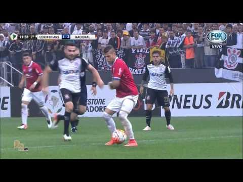 Gols Corinthians 2 x 2 Nacional (URU) - Libertadores 2016