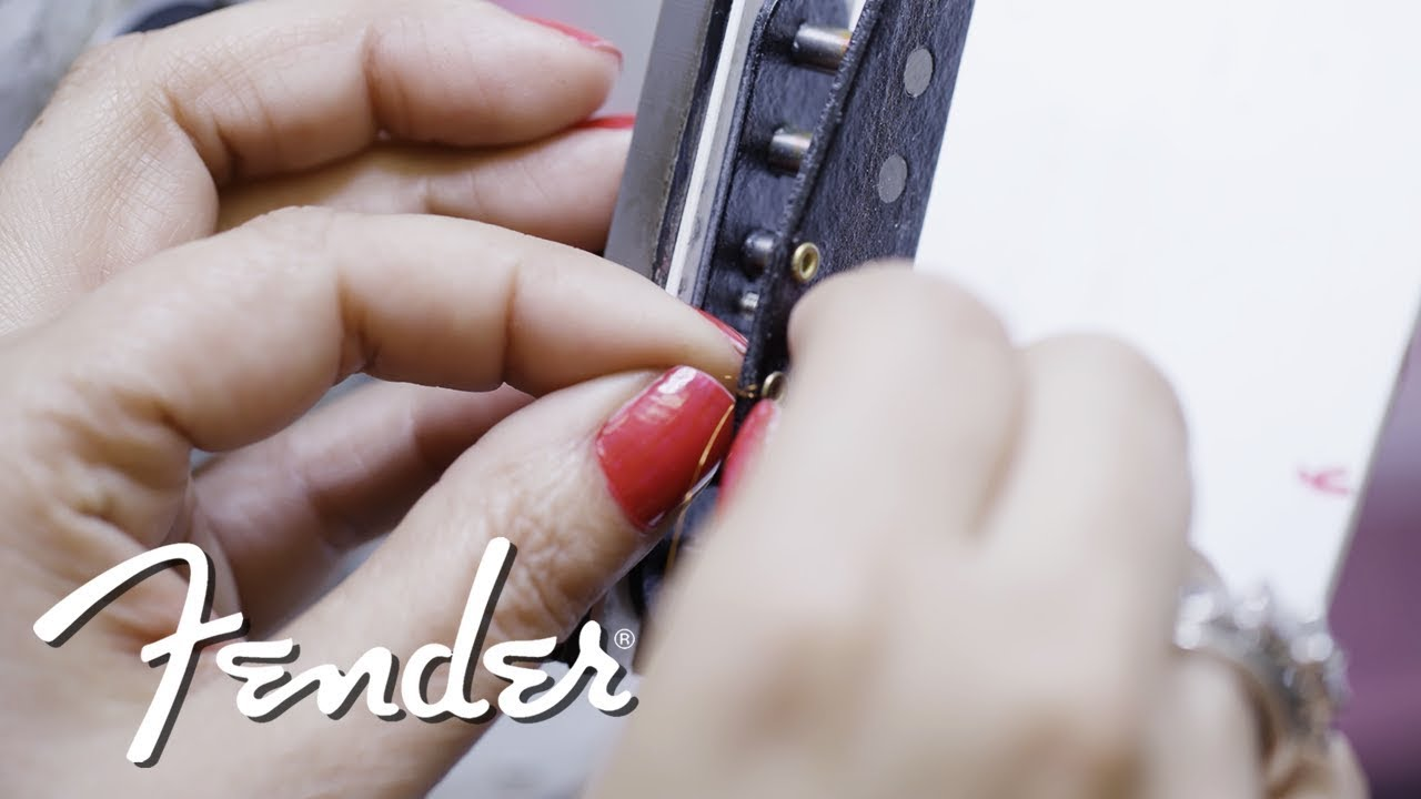 Josefina's Hand-wound Fat '50s Pickups | Fender Custom Shop | Fender