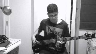 Junior Senior - Shake Your Coconuts Bass Cover