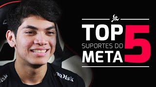Top 5 - Suportes do Meta com Ziriguidun (Patch 6.9)