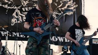 DITTOHEAD - Raining Blood (SLAYER Cover) @Live on METAL CROWD Fest, Rechitsa, Belarus, 15.08.2015.
