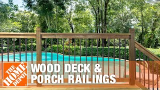 Wood Deck & Porch Railings