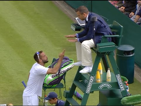 Viktor Troicki goes crazy !! Rage Tennis at its best - Wimbledon 2016 l HD
