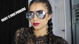 Quay Australia X Desi Perkins Sunglass Review | Crystal Vargas