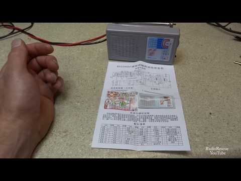Building The BS208HAF Kit Radio From China