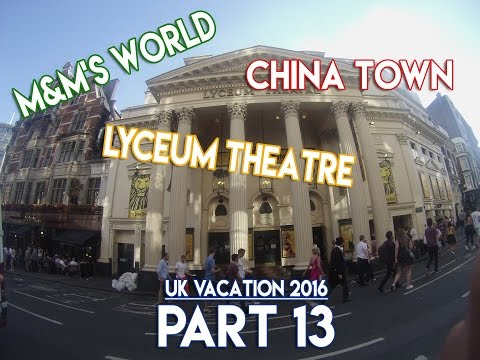 Picadilly Circus, China Town, The Lion King (Lyceum Theatre) - UK Vacation 2016 - PART 13