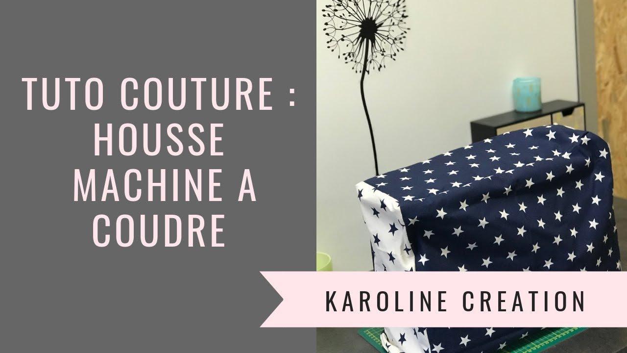 tuto couture coudre une housse de machine coudre youtube. Black Bedroom Furniture Sets. Home Design Ideas