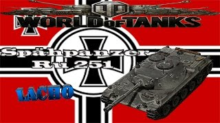 World of Tanks Spähpanzer Ru 251 - 6 Kills 6,5K DMG