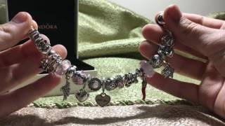Обзор моих браслетов Pandora | Моя коллекция | TheAny ai