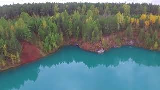 Зелёное озеро. Красиво (г.Реж Свердловская область).