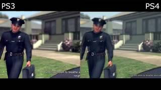 L.A. Noire - PS4 vs PS3 GRAPHICS COMPARISON