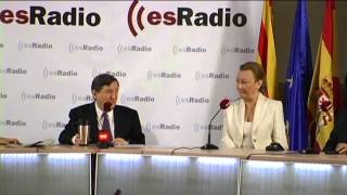"""Luisa Fernanda Rudi: """"Aragón es el pasillo de seguridad para España"""""""