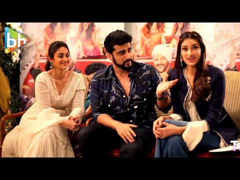 Athiya Shetty's INTERESTING Rapid Fire On Ranveer Singh, Ileana D'cruz & Arjun Kapoor | Mubarakan