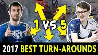 2017 BEST TURN-AROUNDS and CLUTCH SAVES — Dota 2