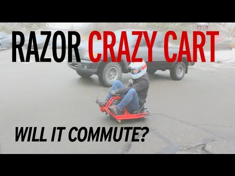 Razor Crazy Cart - Will It Commute?