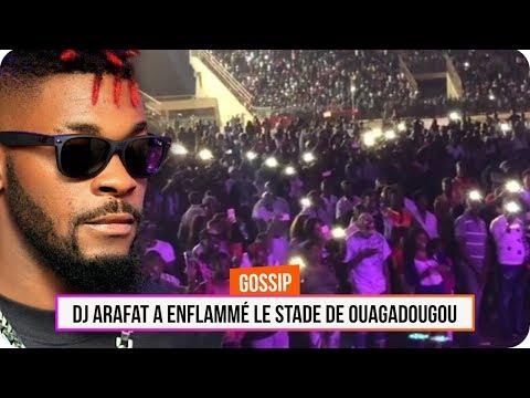 DJ Arafat a enflammé le stade de Ouagadougou