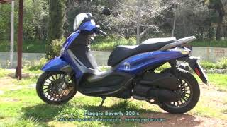 Piaggio Beverly 300 s -  test ride by Kostas Tournavitis - hellenicmotors.com